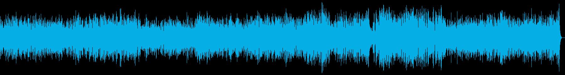 わくわく楽しい軽快なラグタイムピアノ04の再生済みの波形