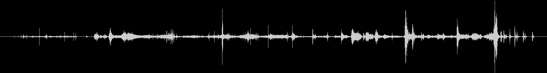 ダンボールバンカーボックス:返品フ...の未再生の波形