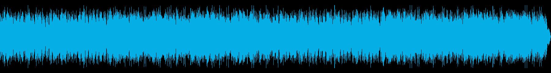 ヨガなどに、リラックスアンビエントの再生済みの波形