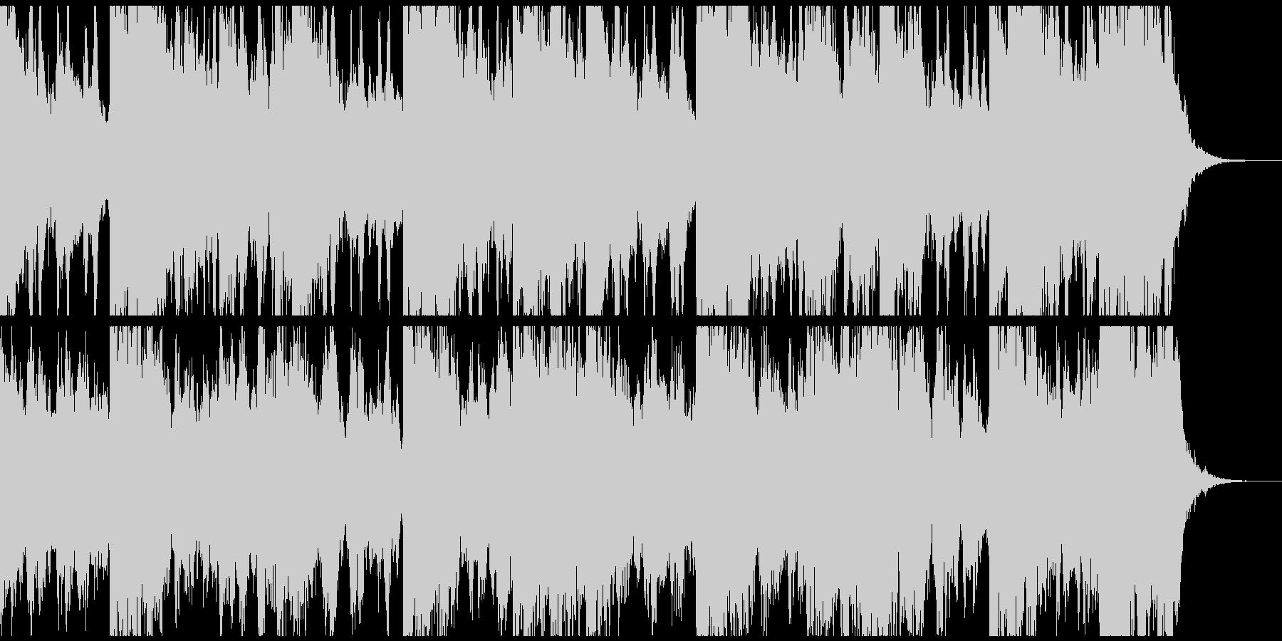 未来 希望 ピアノ ストリングス 叶えるの未再生の波形