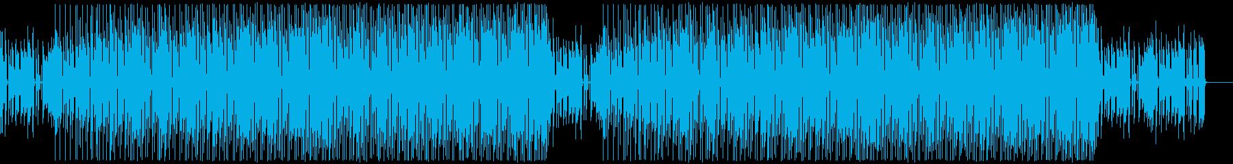 腕利きミュージシャンたちのジャズファンクの再生済みの波形