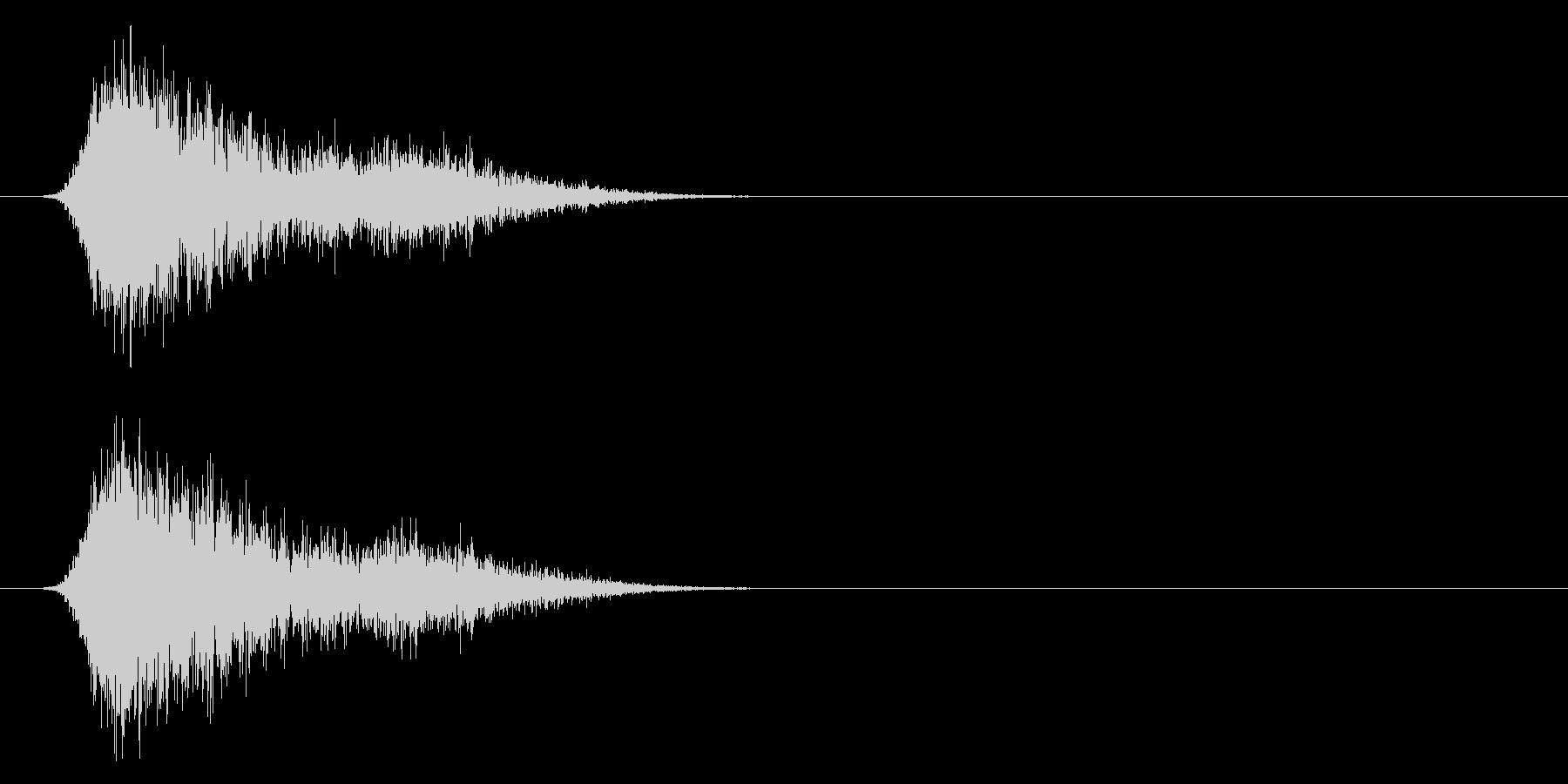 コミカルなダッシュ!ジャンプ効果音!7bの未再生の波形