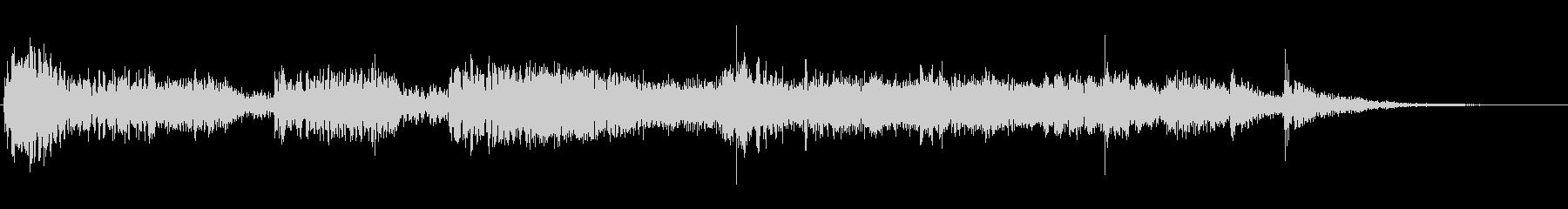 ヒットラテンバンパーの未再生の波形
