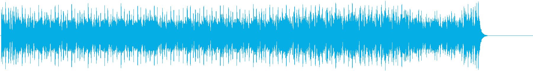 ちょっと退廃的なテクノ/ポップ/テーマの再生済みの波形