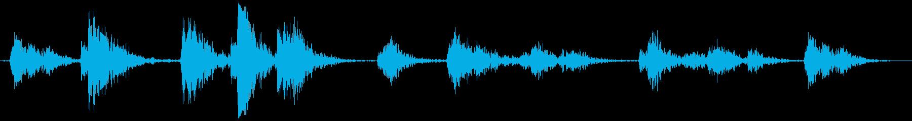 ドッグフォールダウンランドリーシュ...の再生済みの波形