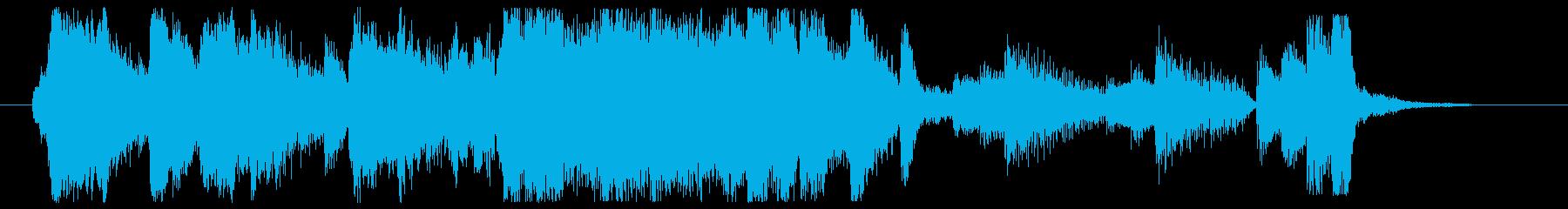 【CM】ゆったりまどろみ、ゆっくり入浴の再生済みの波形