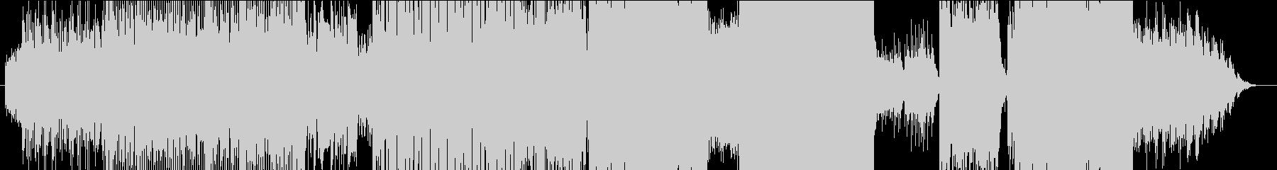 LASTの未再生の波形