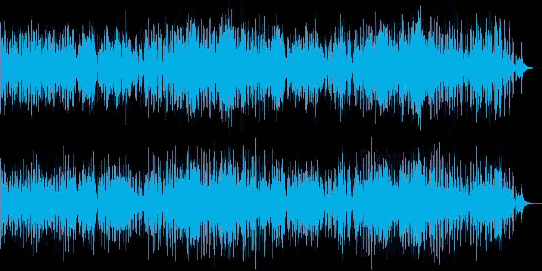 希望に満ちた様な軽快で前向きなピアノソロの再生済みの波形