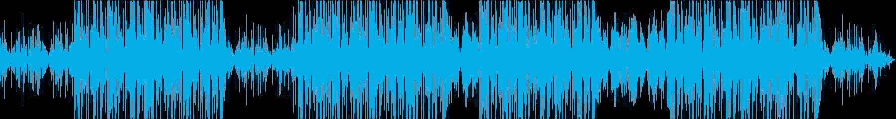 ヒップホップ トラップ 危険な雰囲気の再生済みの波形
