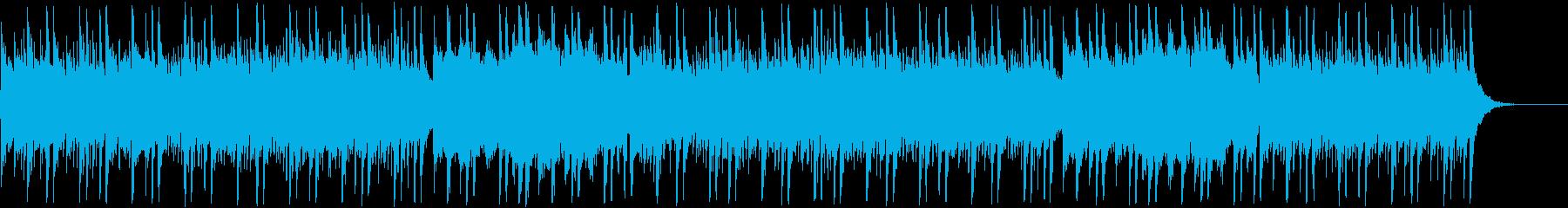 神秘的なお社をイメージした和風BGMの再生済みの波形
