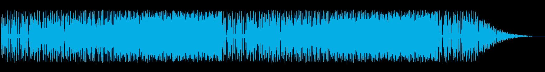 バトル風(ピアノ・バイオリン)の再生済みの波形