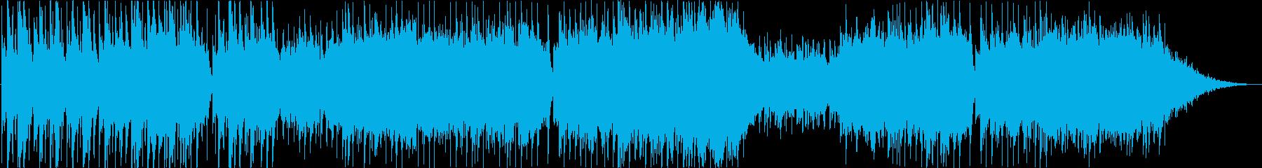 ザ・ラスト・ローズ・オブ・サマー庭の千草の再生済みの波形
