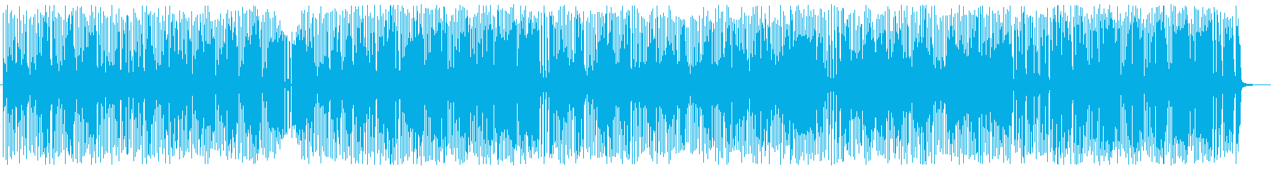 渋めでお洒落なオルガンブルースの再生済みの波形