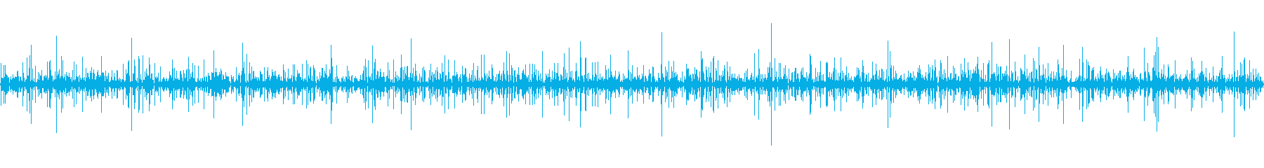 Rippling water's reproduced waveform
