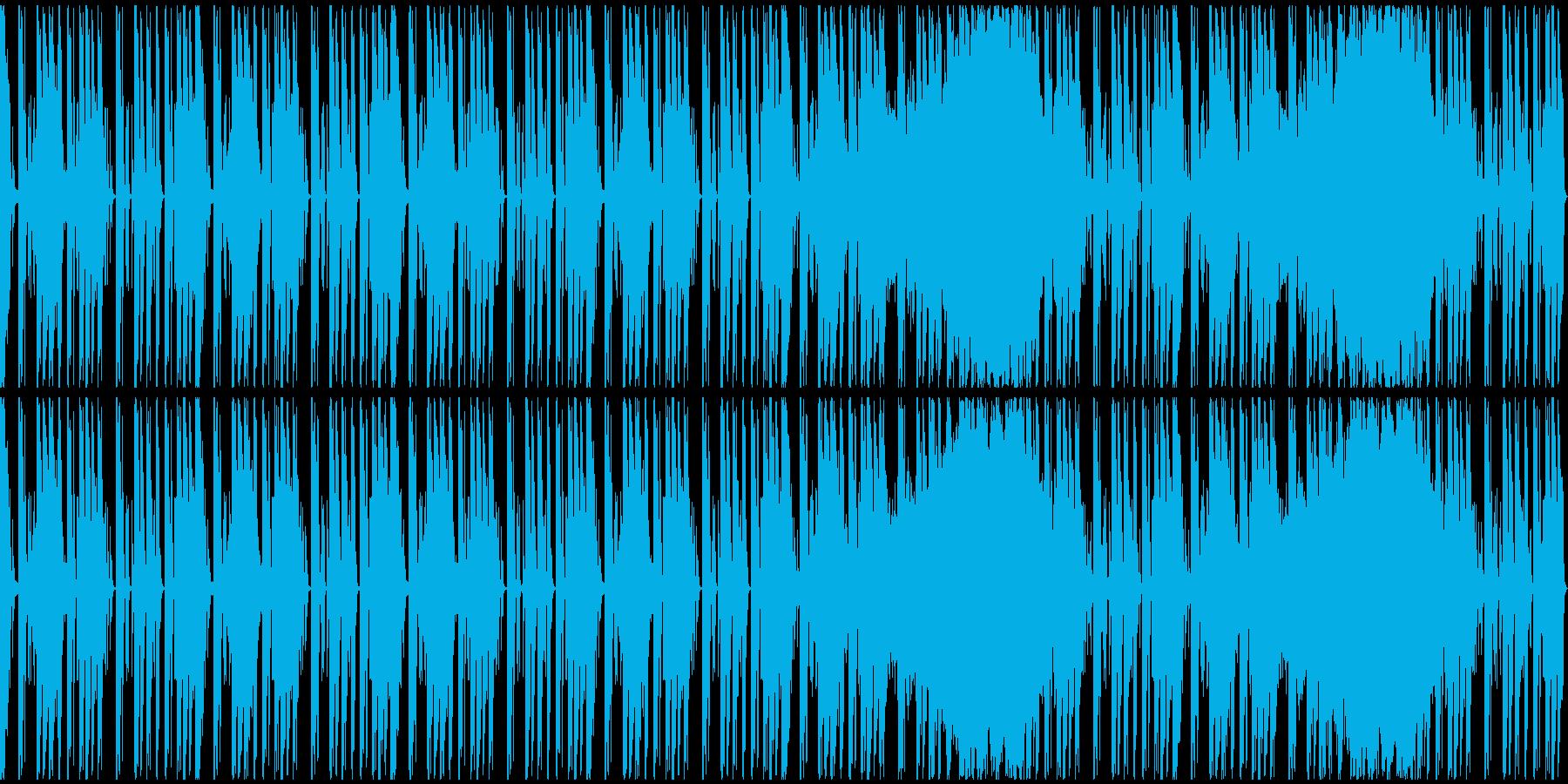 【ミステリアス】ゲーム、ロング1の再生済みの波形