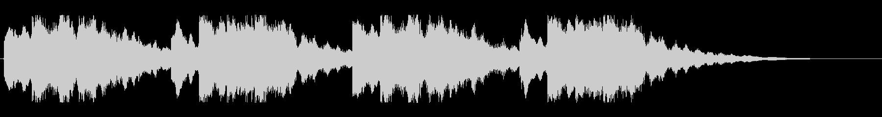 キーンコーンカーンコーン06(早め2回)の未再生の波形