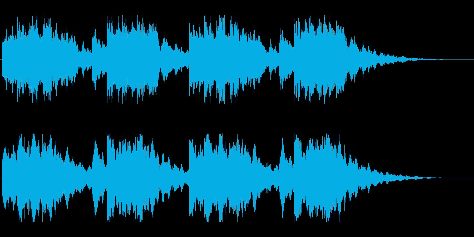 キーンコーンカーンコーン06(早め2回)の再生済みの波形