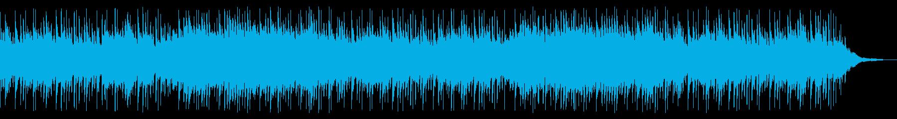 ピアノと切ない感じの爽やかなポップスの再生済みの波形