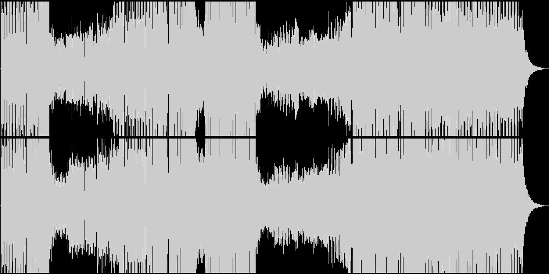 サンプル音声付きプログレッシブハウ...の未再生の波形