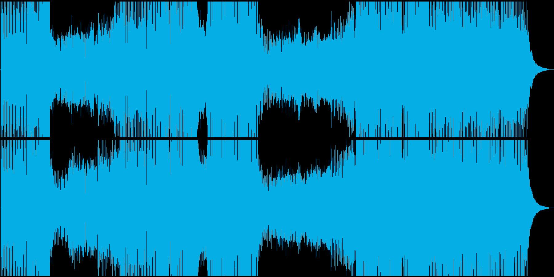 サンプル音声付きプログレッシブハウ...の再生済みの波形