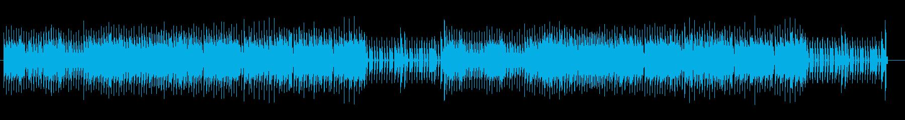 ロックマン風のアクションゲームの再生済みの波形