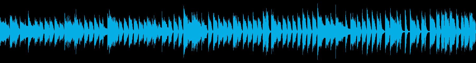 ジャジーなカフェBGM (ループ仕様)の再生済みの波形