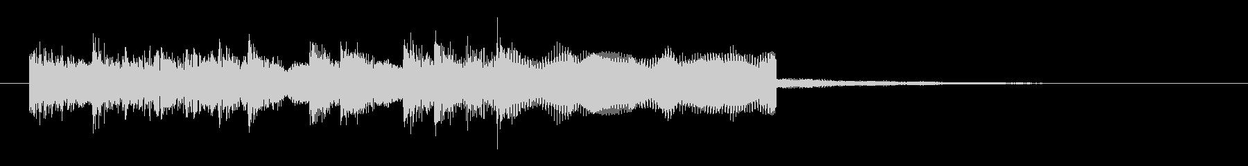 シンセのメタルフレーズなジングル 様式美の未再生の波形