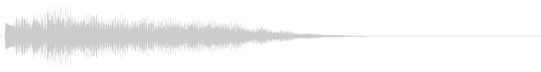マレット系 タッチ音3(長)の未再生の波形