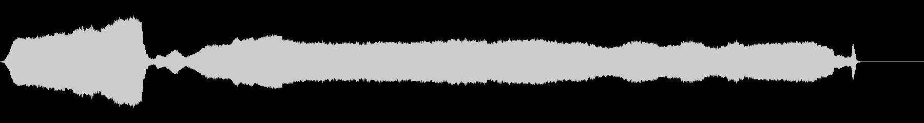 ホイッスルスローダブルブローwavの未再生の波形