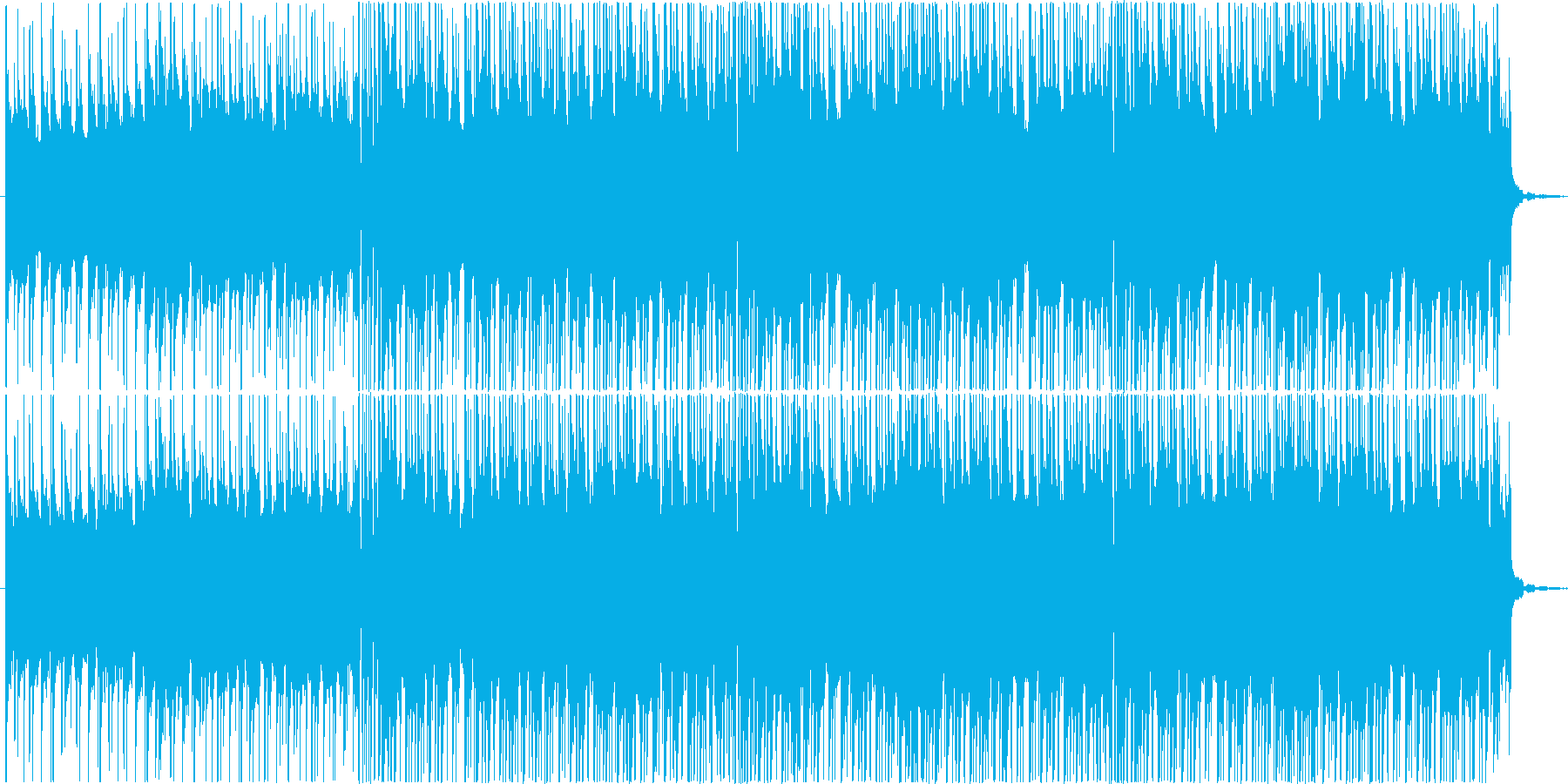 南国をイメージしたトロピカルハウスですの再生済みの波形