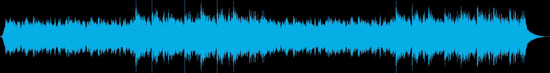 シネマティックなピアノとストリングス2Lの再生済みの波形
