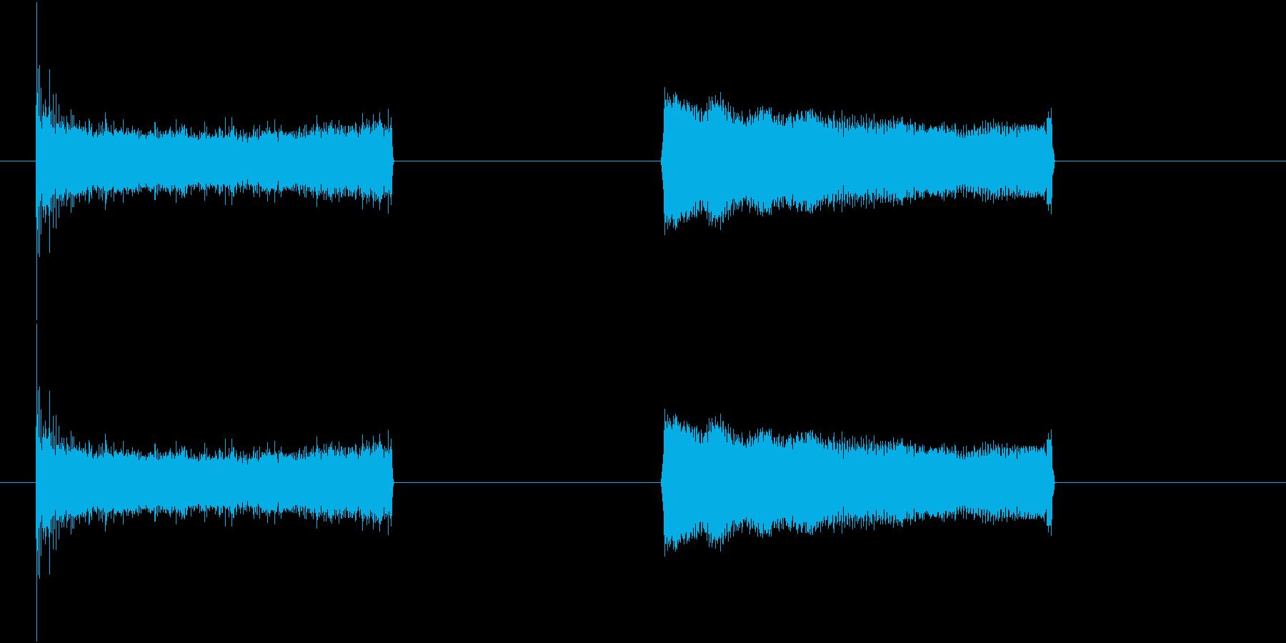 レーザービーム小型レーザービーム_...の再生済みの波形