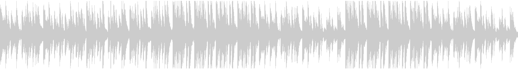 うきうきほのぼのな日常のBGMの未再生の波形