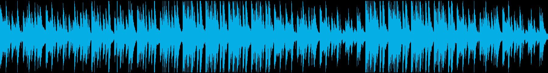 うきうきほのぼのな日常のBGMの再生済みの波形