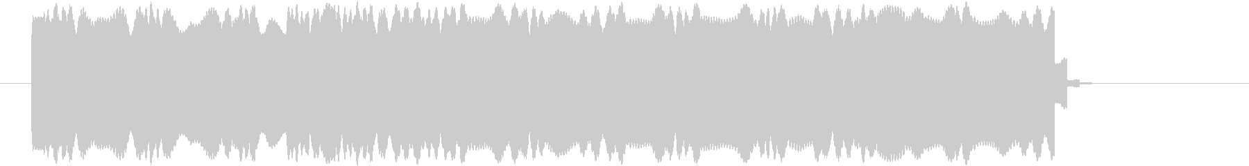 効果音 音信不通 Aの未再生の波形