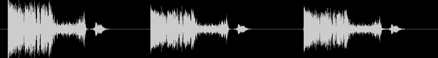 スイッチ-モータースタートでラフ-...の未再生の波形