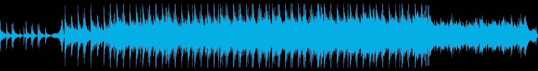 ピアノとギターのゆったりなポップバラードの再生済みの波形