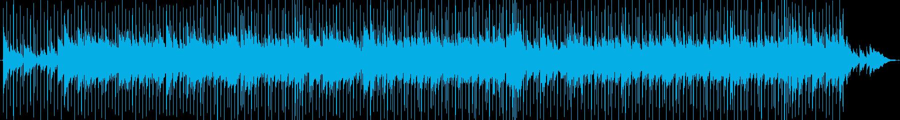 オルガン、チャイム、ボンゴ、ピアノ...の再生済みの波形