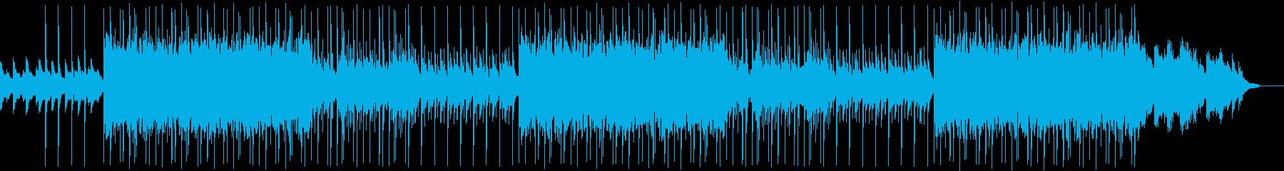 リラックスできるギターヒップホップの再生済みの波形