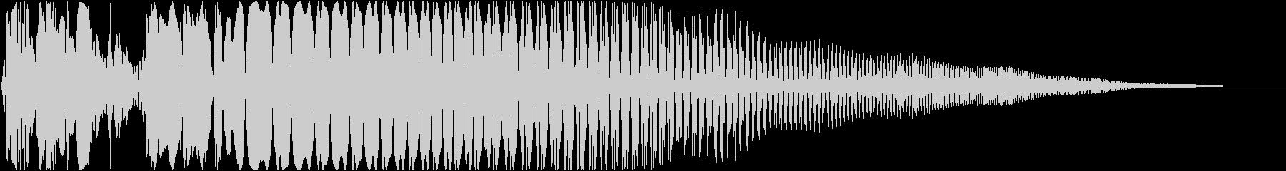 タッチ音の未再生の波形