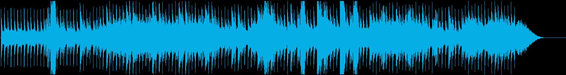 戦場ドキュメント風のBGMの再生済みの波形