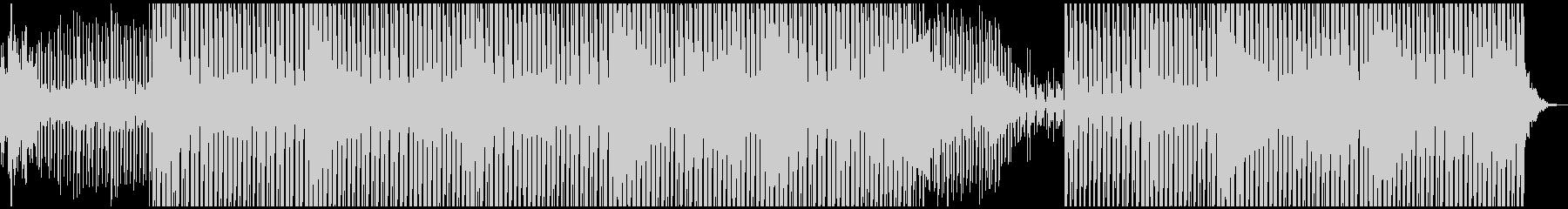 ファンキーでセクシーさのある神秘的音楽の未再生の波形