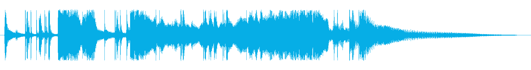 シネマティック フラメンコの再生済みの波形