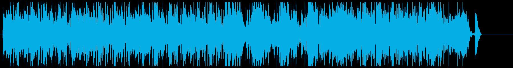 クラシカルでかわいいポップスの再生済みの波形