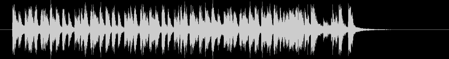 1960年代ポップスサウンドの未再生の波形
