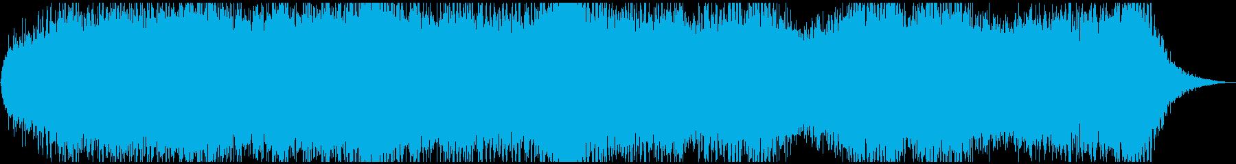 ドローン クリティカル01の再生済みの波形
