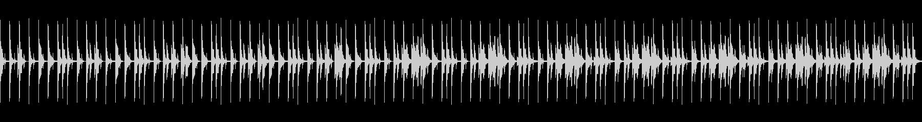 ゆったりファンキーなドラムループ03の未再生の波形