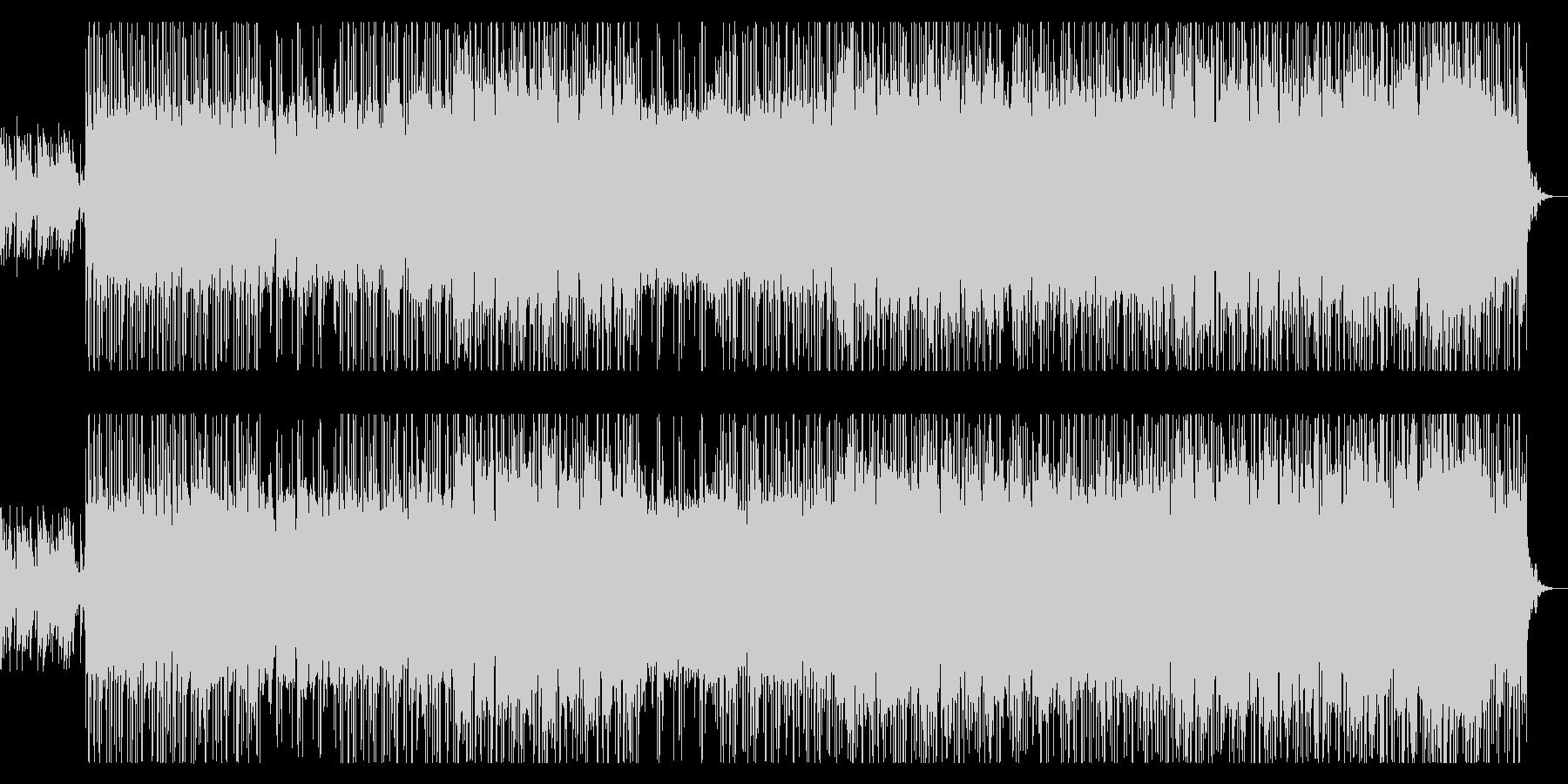 壮大で切ないメロディーのロックの未再生の波形