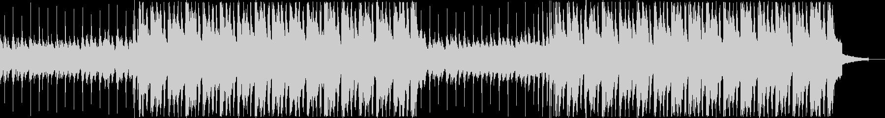 アコギ・口笛・明るい日常系BGMの未再生の波形