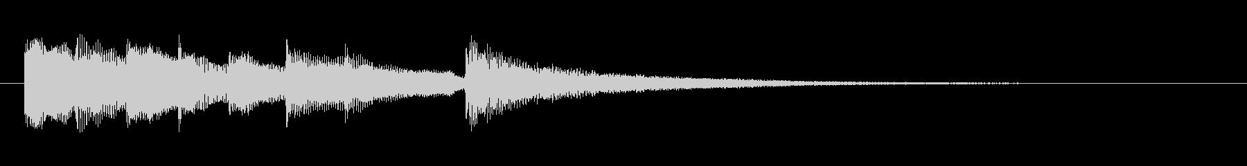 優しく繊細なヨガ音楽と瞑想音楽の未再生の波形
